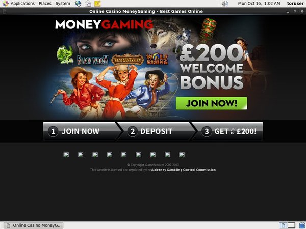Free Bonus Moneygaming