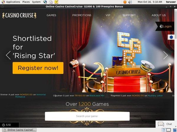 Casino Cruise 300 Bonus