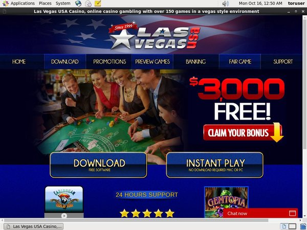 Las Vegas USA Casino Fast Bank Transfer