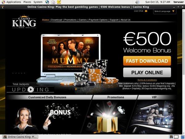 Casino King Paypal Bingo Bonus