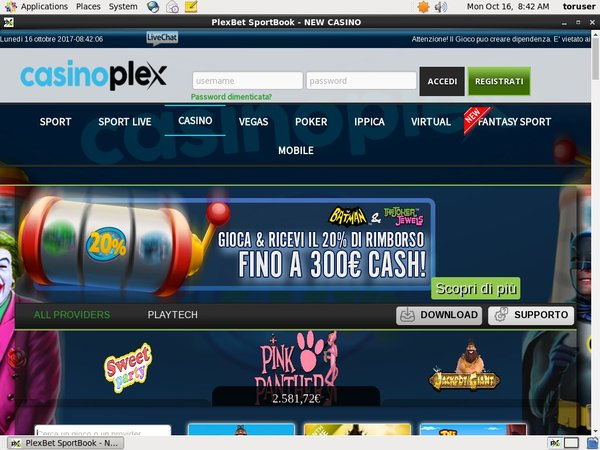 CasinoPlex Sports Betting
