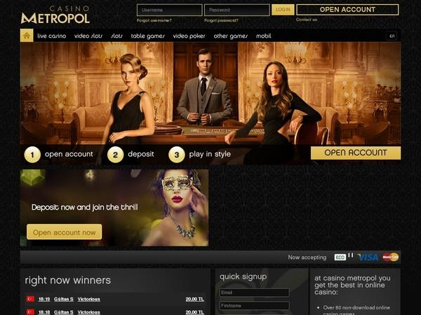 Casinometropol Online Casinos