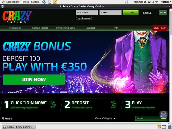 Crazy Casino Betting Offers