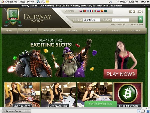 Fairwaycasino Join Up Bonus