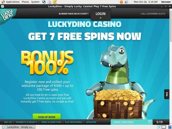 Lucky Dino Casino Test