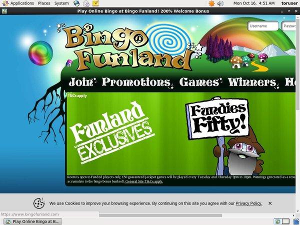 Bingo Funland Free Bonus Code