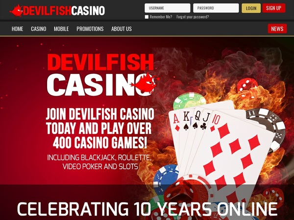 Devil Fish Live Online Casino