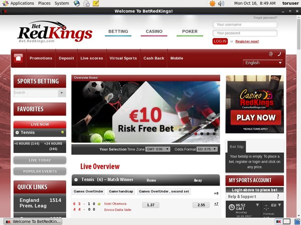 Redkings Coupon