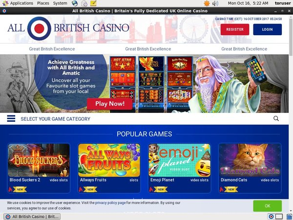 Allbritishcasino Blackjack