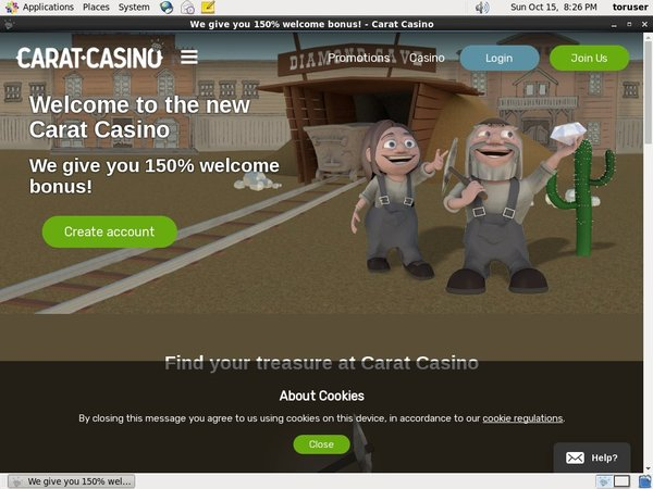 Caratcasino Table Games