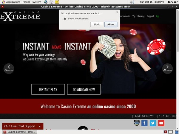 Casinoextreme Highest Limits