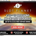 Slot Planet Welcome Promo