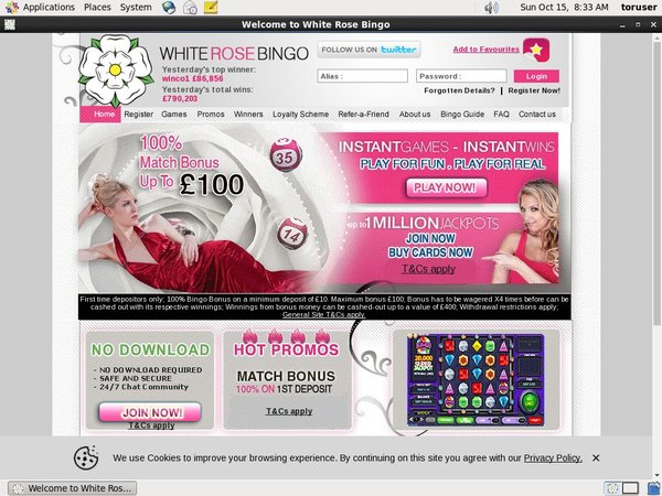 Whiterosebingo Limited Deal