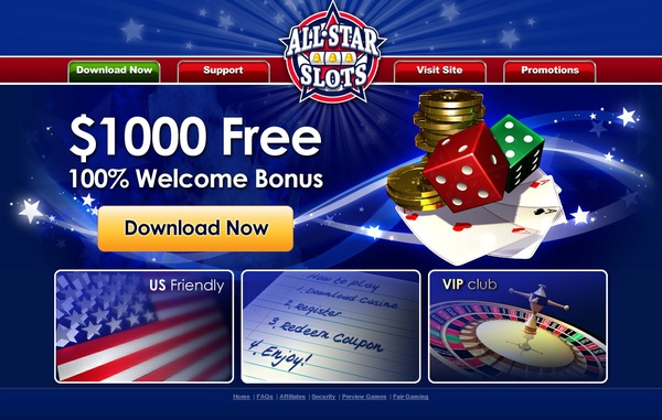All Star Slots Gutschein