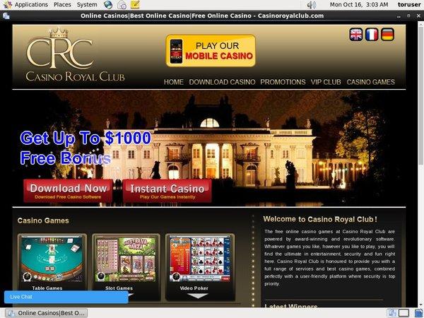 Casinoroyalclub サインアップ