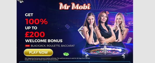 Signup Bonus Mr Mobi