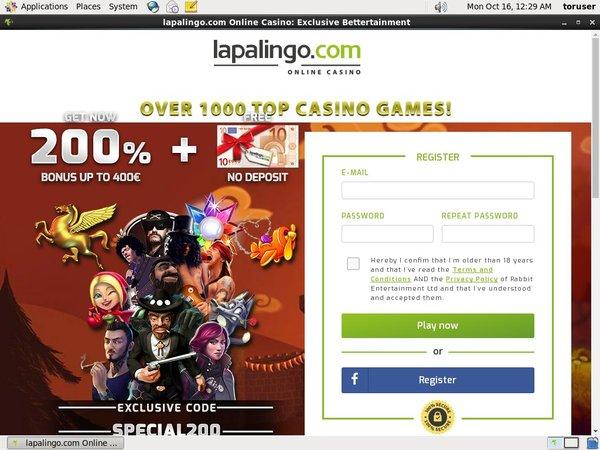Lapalingo No Deposit